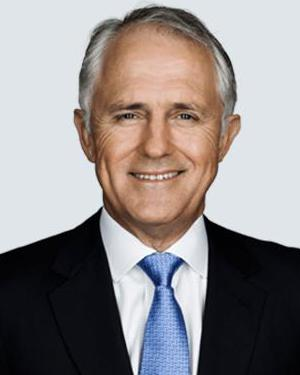 Image of the Prime Minister Malcolm Turnbull
